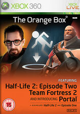 The orange box half-life 2 ~ XBox 360 (en très bon état)