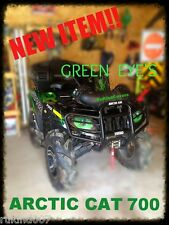 Arctic Cat mudpro GREEN EYES Headlight Covers