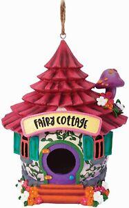 "Fairy Cottage 10162 Weather Resistant Indoor Outdoor Birdhouse 9"" H Spoontiques"