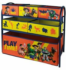 Kids Toy Story Storage Box Stand Unit Organiser Drawers Basket Rack Bedroom Tidy
