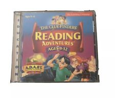 Cluefinders Reading Adventures Ages 9-12 Pc Cd Rom & Manual Win Mac Learning Co