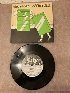 The Stoat - Office Girl 7' Inch Vinyl Single City Records NIK1 1978 VERY RARE