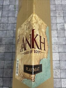 Ankh Gods of Egypt Double Sided Playmat Kickstarter Exclusive NEW In Hand CMON