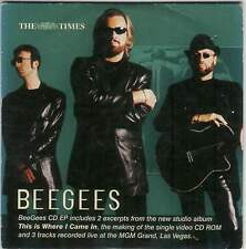 BEE GEES ‎– PROMO CD EP (2001) 5 TRACKS + CD-ROM / THIS IS WHERE I CAME IN