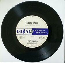 BUDDY HOLLY Baby, I Don't Care Vinyl Single Record Very Rare 1961 Aus Repress