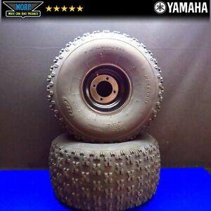 Rear Back Wheels Rims Tires 20x11-8 for Yamaha Blaster 4x100 1988-2006
