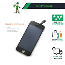 For iPhone 5C LCD Replacement Display Touch Screen Digitizer Lens - Black