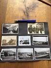 Wehrmacht Norwegen 12 Original Fotos Albumseite Zerstörung GräberFotos - 15504