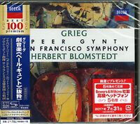 HERBERT BLOMSTEDT-GRIEG: PEER GYNT. OP.23 - EXCERPTS-JAPAN SHM-CD D46