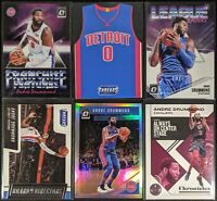 Lot of (6) Andre Drummond, Including Threads Die-Cut, Optic Holo & Optic inserts