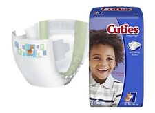 Cuties Diaper, Size 7, Heavy Absorbency,  Disposable, CRD701 - Case of 80