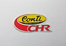 CONTI CHR Racing Parts Logo Sticker Autocollant  - NOS - Scooter, Mobylette, 103