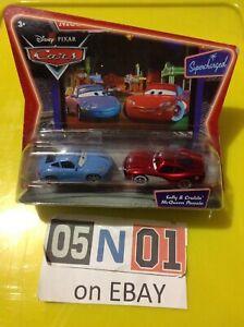 Disney Pixar Cars Movie Moments Sally & Cruisin' McQueen Supercharged VHTF (FB02