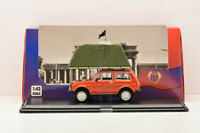 LADA NIVA WITH ROOF TENT CAMPING CAR RED 1981 IST 1/43 NEUVE EN BOITE