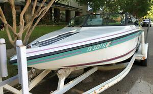 1988 Supra Comp TS6M Pleasurecraft Inboard Trailer Ft. Worth, TX No Fees/Reserve