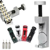 Metal Adjustable Watch Band Strap Bracelet Link Pin Remover Repair Tool Set Kit