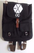 Kpop EXO Canvas Backpack Book Bag, Korean Pop Music Collectible