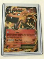 Charizard EX ULTRA RARE 11/106 XY Flashfire Pokemon card TCG NM HOLO REAL