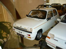 RENAULT 5 R5 ALPINE LAUREATE TURBO BLANCHE  1/18 OTTO OTTOMOBILE OTTOMODELS