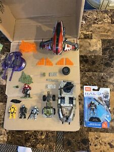 Mega Bloks/Construx HALO LOT VEHICLES AND FIGURES