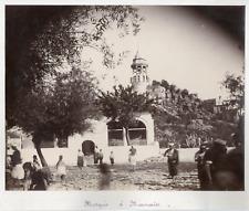 Turquie, Marmaris, mosquée  vintage albumen print. Marmaris est une ville du sud