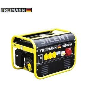 Stromerzeuger Generator Notstromaggregat Benzin Freimann FM-S8500W Neu