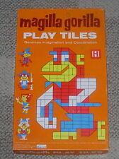 HALSAM  MAGILLA GORILLA  PLAY TILES  1964  HANNA BARBERA  PLAYSKOOL