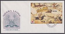Sierra Leone Sc 1727 FDC. 1994 Horse Mounted Hunters Souvenir Sheet, VF