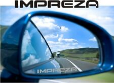 IMPREZA  Suburu Sticker Decal Etched Glass Effect for Mirror Style