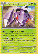 Genesect - N&B:Explosion Plasma - 10/101 - Carte Pokemon Neuve Française