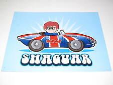 Affiche Métallique Shaguar 30x50cm NEUF