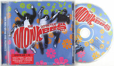 MONKEES CD The Definitive BEST OF 21 Tracks I'm A Believer Last Train Theme NEW