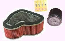 Service kit- Plugs , Air Filter & Oil Filter to fit HONDA VTX VTX1300 2003-09
