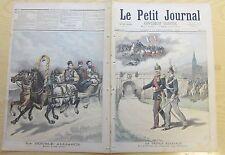 Le petit journal 1893 147 La triple alliance zouave Metz