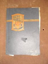 Vintage 1926 Lick-Wilmerding Lux Yearbook San Francisco CA School Antique