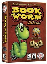 Book Worm Deluxe! PC Games Windows 10 8 7 Vista XP Computer word puzzle bookworm