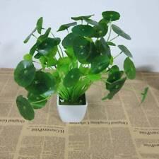 1pc Green Fake Water Plants for Fish Tank Aquarium Ornament New Water Grass