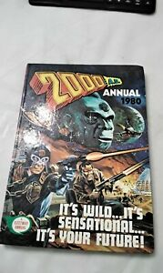 2000AD Annual 1980 - unclipped good condition