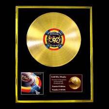 ELO OUT OF THE BLUE AWARD DISPLAY CD GOLD DISC LP PLATED TO