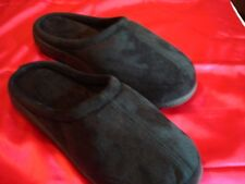 Very Comfy The Black Series Memory Foam Slippers - Unisex Size Large  Black