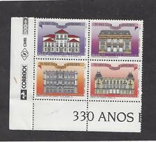 BRAZIL - 2416 - MNH -1993 - BL/4 - 330TH ANN BRAZILIAN POST