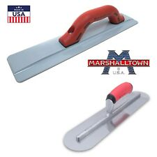 "Concrete Finishing Tools - Magnesium Float 18""x3"" 1/8 & 16""x4"" Rounded Trowel"