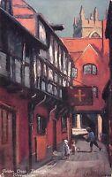BR94561 golden cross passage shrewsbury painting postcard   uk