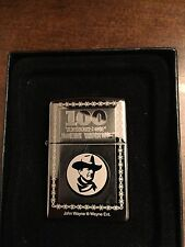 "Limited Edition ""100 Years"" John Wayne Zippo lighter"