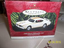 HALLMARK Collectors Series 1969 HURST OLDSMOBILE 442  Dated 1997 Ornament NEW NI