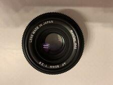 Mamiya Af 80 Lens For 645 Afd Cameras