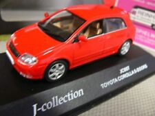 1/43 J-Collection jc007 toyota corolla 5-puertas rojo