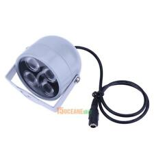 4 LED Infrared Night Vision IR Light Illuminator Lamp Floodlight for CCTV DC 12V
