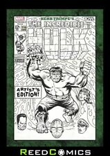 HERB TRIMPE INCREDIBLE HULK ARTIST EDITION HARDCOVER New Boxed Sealed Hardback