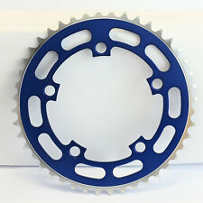 Old School BMX Chainring 5 Bolt Blue 110 BCD